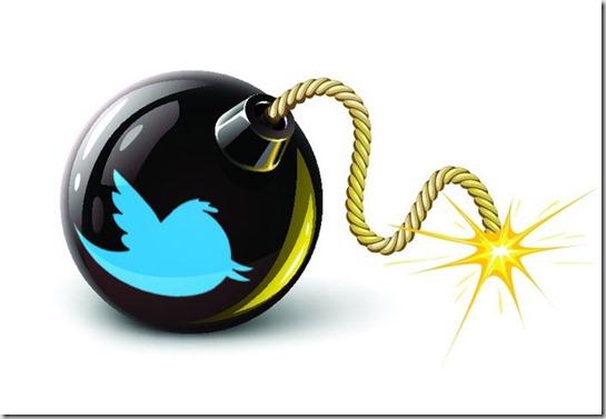 tweet bomb